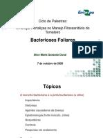 Bacterioses Foliares