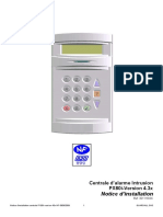 Notice d Installation Centrale PX80i-Version 43x-NF-08062009