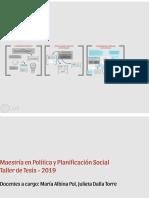 Clase 1 - 2019 Proceso, Diseño, Proyecto - Problema