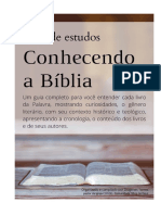 PDF Serie de Estudos Conhecendo a Bíblia