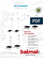 Balmak Manual do usuário - BKF-BKH-F