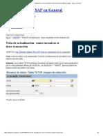 Vista de actualización_ como encontrar si tiene transacción