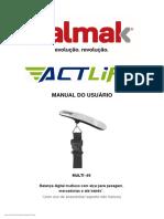 Balmak Manual do usuário - Actlife - MULTI50