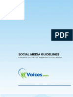 Social Media Guidelines For Your Business