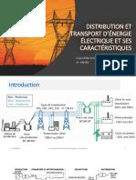 Chapitre 1 Distribution Et Transport d'Énergie Électrique