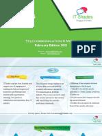 I-Bytes Telecommunication & Media February Edition 2021