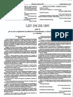 Ley 376 de 1997 (Reglamenta La Profesión de Fonoaudiología)