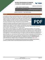 231776_GABARITO JUSTIFICADO - DIREITO CONSTITUCIONAL