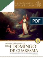 Subsidio - I Domingo de Cuaresma - Ciclo B