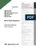 JRC JMR-7200-9200 Instruct Manual Basic 1-6-2020