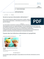 Les Intoxications Alimentaires