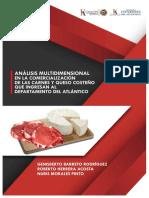 Análisis multidimensional en la comercialización de las carnes y queso
