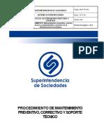 GINF-PR-002 Mantenimientos Correctivos y Preventivos