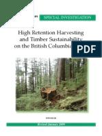 Timber Sustainability