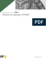 Premios Pritzker Discursos de aceptación,
