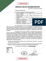 Memo Mul 008 Lineamientos Generales Para La Planificacion Operativa - 2021 Ok