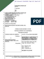 SpaceX Response DOJ Hiring Subpoena