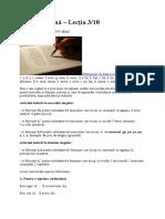Limba Italiană 3