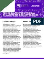 Curso de Pregrado en Auditoria Bromatologica