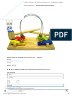 Bate Bolinha Em Madeira - Multicolorido Com 2 Martelos - Brinquedos _ Kits e Gifts Brinquedos Inteligentes
