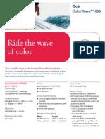 Océ_ColorWave_600_specifications