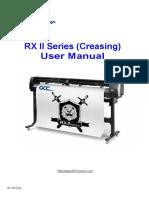 RXII (Creasing) Series User Manual