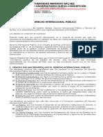 Programa Desarrollado Derecho Internacional Publico