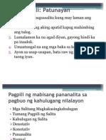 Pagpili Ng Mabisang Pananalita-Retorika