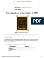 Módulo 9 G20_ Promulgación de la Constitución de 1917