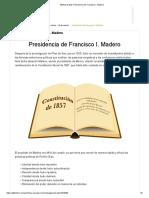 Módulo 9 G20_ Presidencia de Francisco I. Madero