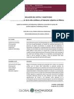 Acumulación del capital y subjetividad