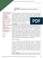 3.1.1 El Porfiriato. Características económicas, políticas y sociales - Historia de México
