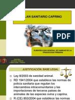 Plan Sanitario Caprino 2011  PRESENTACIÓN