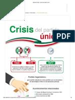 Módulo 9 G20_ Crisis del partido único