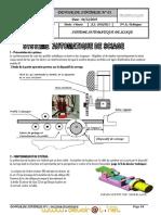 Devoir de Synthèse N°1 - Technologie Système automatique de sciage - 3ème Technique (2010-2011) Mr heni abdellatif