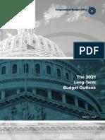 CBO Long-Term Budget Outlook