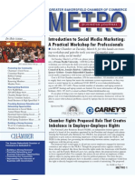 METRO Business Journal - March 2011