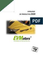 EVMotors®CATALOGO DE PRODUCTOS 2020