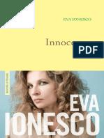 Innocence - Ionesco Eva