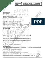 Série d'exercices - Math - Vecteurs de l'espace - 3ème Technique