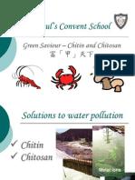 Green Saviour - Chitin and Chitosan