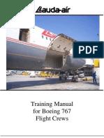 767 Training Manual - Lauda Air (1999)