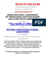 NARLO Offense - 10 P's - Ewart