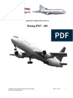 Aircraft Operation Manual B767-200