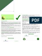 Folleto Global Green Ingenieros