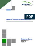4Motion Ver.2.5M_Performance Management_090908