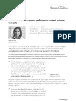 BrandTailors 2010 economic performance exceeds previous forecasts