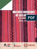 Mujeres Indígenas de Las Américas a 25 Años de Beijing