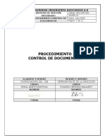 6. PRO-SST-001 Procedimiento Para El Control de Documentos