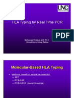 HLA typing by real time PCR presentation 11 5 2010
